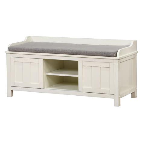 Linon Lakeville Indoor Storage Bench