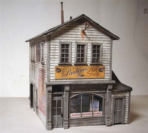 @ List Of Free Printable Scale Buildings - Thesprucecrafts Com.