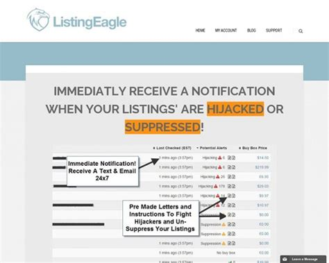 [click]listing Eagle - Fba Listing Monitoring Software - Http .