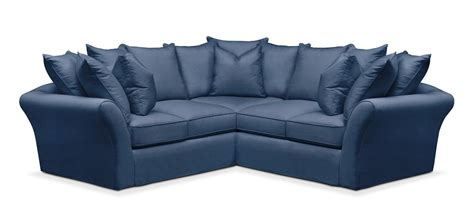 Living Room Furniture - Allison 2 Pc Sectional With Right .