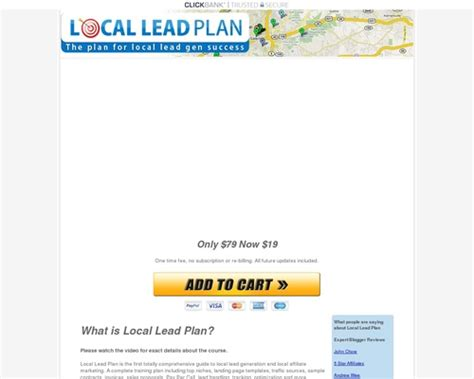 [click]local Lead Plan - Local Lead Generation Training Course