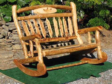 Log Furniture Chair Plans