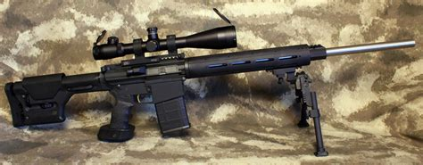 Long Range Target Varmint Rifle 308 Ar  Ar-10 Sniper Rifle.