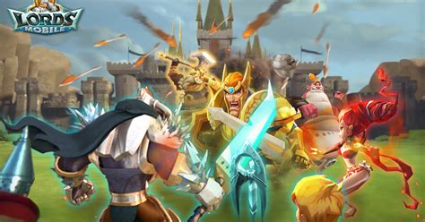 @ Lords Mobile Battle Of The Empires - Strategy Rpg - Apps .