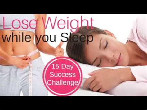 [click]lose Weight While You Sleep   15 Day Success Challenge  Lose Weight Fast And Easy Hypnosis.