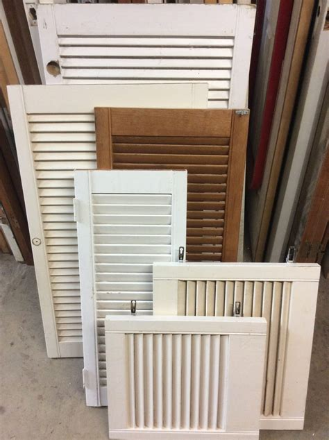 Louvered Cabinet Doors Only