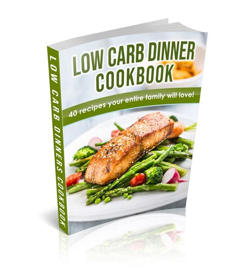 [click]low Carb Dinner Cookbook   The Official Store Of Tone-And .