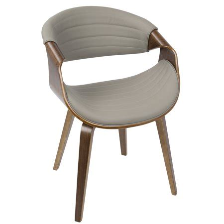Lumisource Lumisource Symphony Dining Chair Walnut Wood .