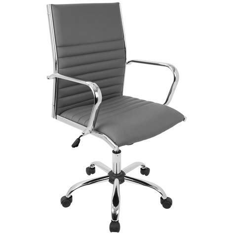 Lumisource Master Leather Computer And Desk Office Chair .
