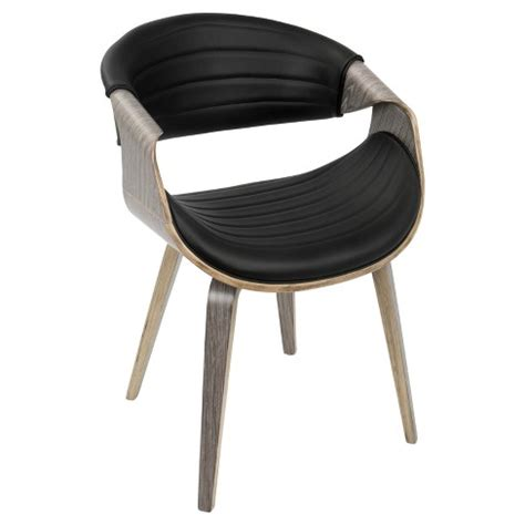 Lumisource Symphony Mid-Century Modern Dining Chair .