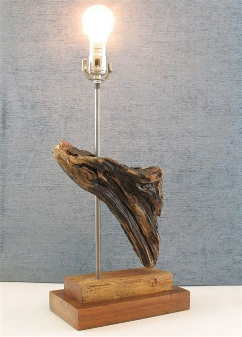 Luxurious Lamp Driftwood Lamp Reclaimed Wood Lamp .