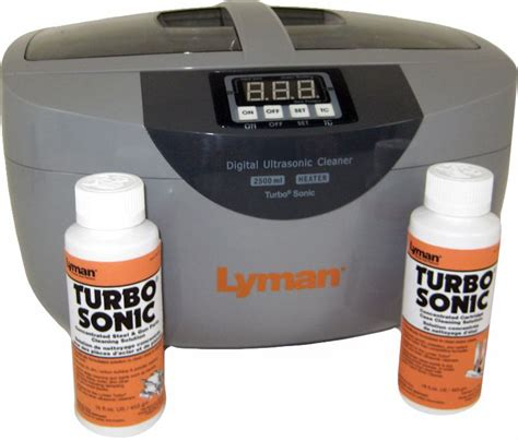 Lyman Turbo Sonic Cleaner Promo Pack 4 6 Star Rating .