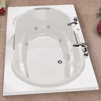 Maax - Balmoral White Acrylic Soaker Tub With Polished .