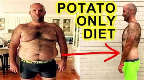 @ Man Breaks Potato Only Diet On Live Tv  Epic Weightloss Journey Revealed.