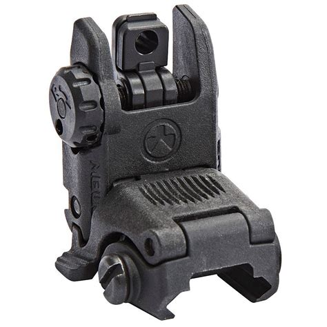 Mbus  Sight   Rear - Magpul Com.