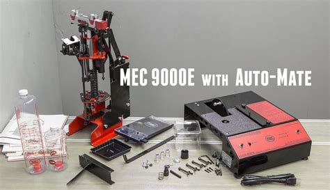 Mec 9000e Shotshell Reloader With Auto-Mate Unboxing And Setup.