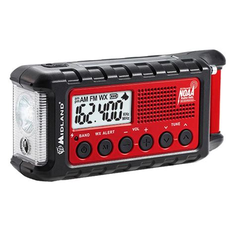 Midland Emergency Crank Radio Review Er310.