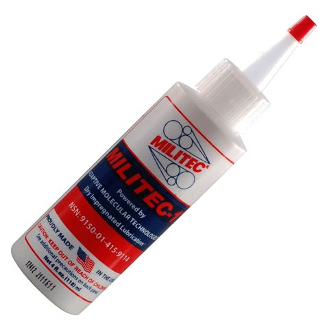 Militec-1 - The Only All-Purpose Synthetic Metal Conditioner.
