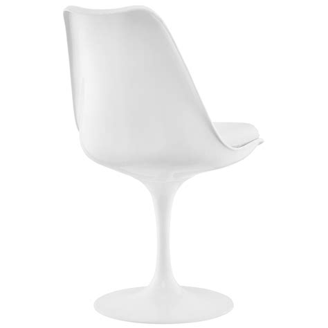 Modway Lippa White Dining Vinyl Side Chair-Eei-1594-Whi .