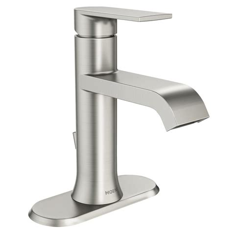 Moen Genta Single Hole Single-Handle Bathroom Faucet In .