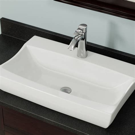 Mr Direct Porcelain Vessel Sink Bisque Sink Only No .
