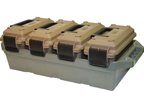 Mtm Ammo Crate Polypropylene Dark Earth - Midwayusa.