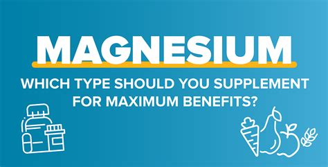 [click]magnesium - Which Type Should You Supplement For Maximum .