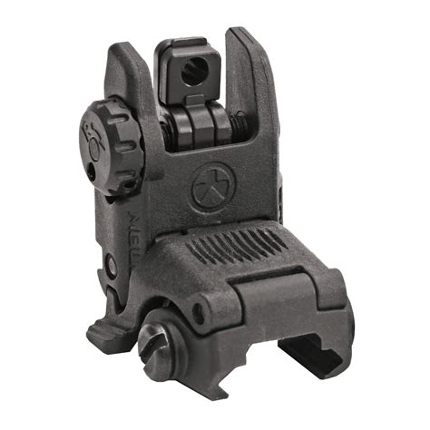 Magpul Mbus Rear Gen 2 Flip-Up Back Up Sight  Up To 33  .