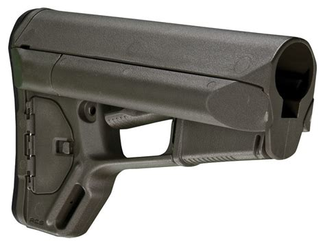 Magpul Stock Acs-L Collapsible Mil-Spec Diameter Ar-15 Lr .