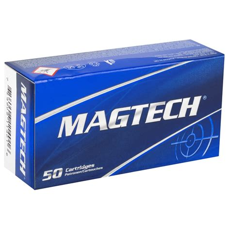 Magtech Sport 9mm Luger 115 Grain Full Metal Jacket.