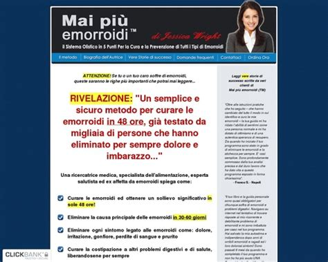 [click]mai Piu Emorroidi Tm  Hemorrhoid No More Tm In Italian .