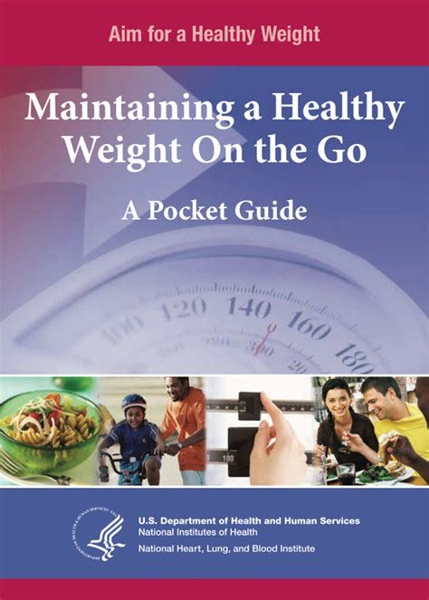 [pdf] Maintaining A Healthy Weight On The Go A Pocket Guide.