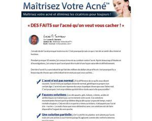 [click]maitrisez Votre Acne   Acne Treatment French Version