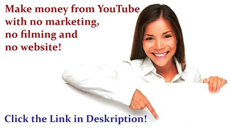 [pdf] Make Money From Youtube With No Filming No Marketing And .