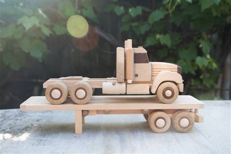 Make Wood Toy Truck Plans