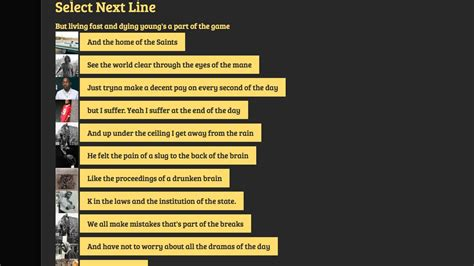 @ Make Your Own Lyrics With This Artificial Intelligence Rap .
