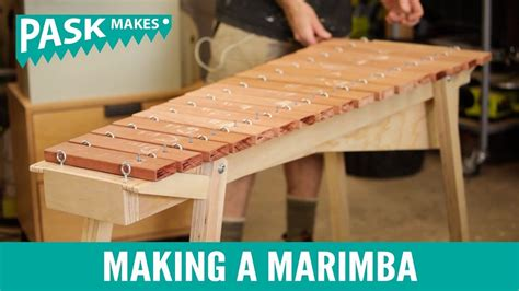 [click]make A Marimba - Building Diy Marimbas Made Easy .