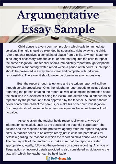 National Service Argumentative Essay | blogger.com