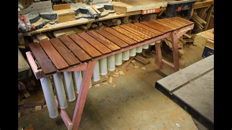 @ Making A Marimba.