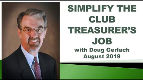 [pdf] Making The Investment Club Treasurer S Job Easy.