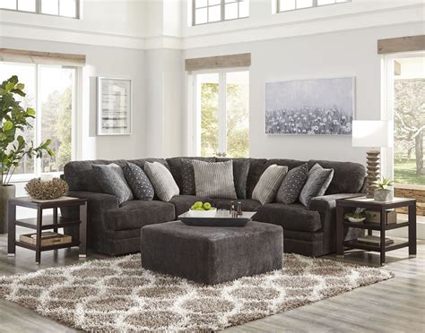 Mammoth Smoke Laf Chaise Sectional - 1stopbedrooms.
