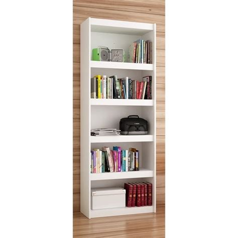 Manhattan Comfort Parana 3 0 Series 5 Shelf Bookcase In .