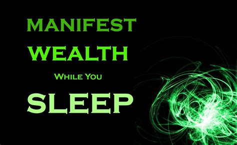 [click]manifest Wealth While You Sleep.