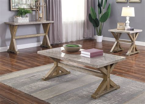 Marble Coffee Tables And End Tables