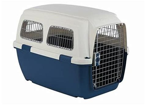 Marchioro Clipper Ithaka Pet Carrier Tan Blue 27 75-Inches .