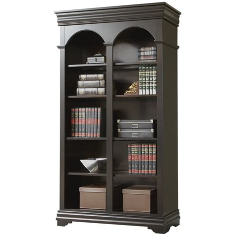 Martin Furniture Beaumont Double Open Bookcase - Fully .