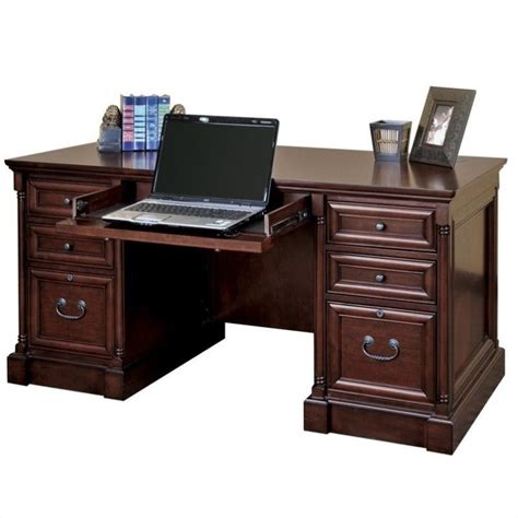 Martin Furniture Mount View Efficiency Double Pedestal .