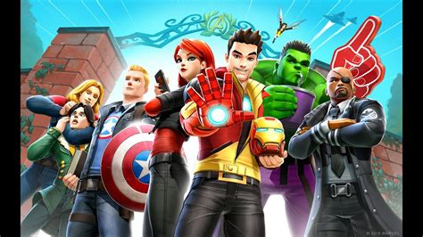 [click]marvel Avengers Academy Character Trailer.