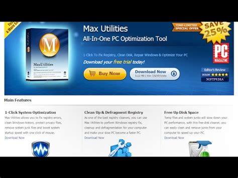 [click]max Utilities - All-In-One Pc Optimization Tool Download Your Free Trial Today .