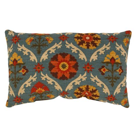 Mayan Medallion Rectangle Throw Pillow - People Com.